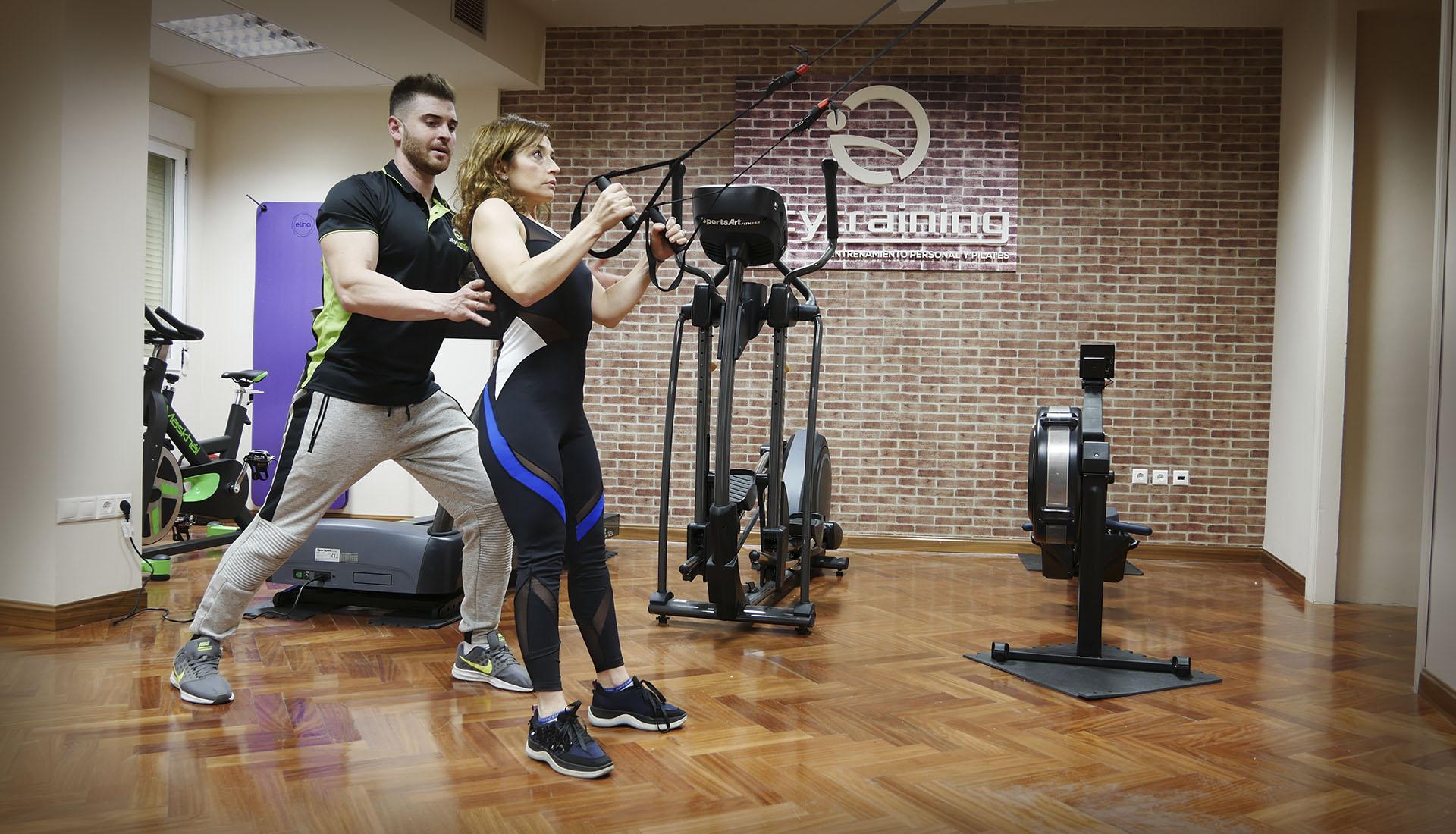entrenamientos personales y pilates en Plaza Fuente Dorada
